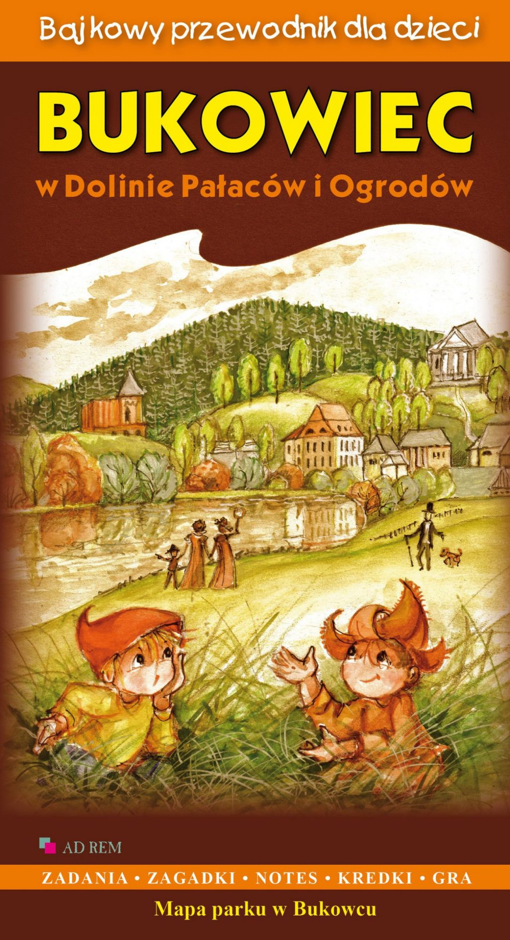 Bajkowy przewodnik dla dzieci – Bukowiec w Dolinie Pałaców i Ogrodów