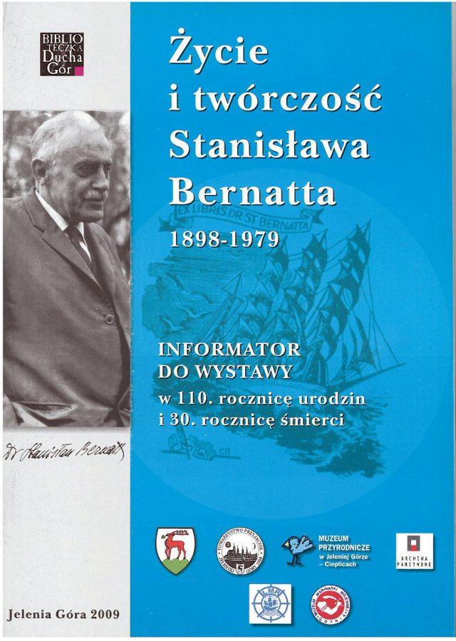 Życie i twórczość Stanisława Bernatta 1898-1979