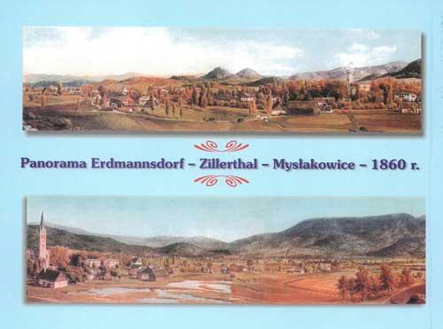 Die Baudenkmäler der Gemeinde Zillertal-Erdmannsdorf Mysłakowice