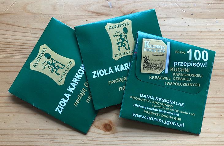 Zioła karkonoskie - produkty i przyprawy z karkonoskich lasów, łąk i pól